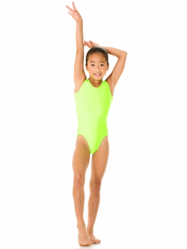 Mondor Hot Lime Tank Leotard