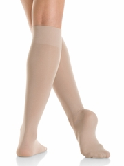 Mondor Junior Light Tan Knee High Socks