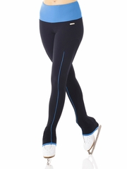 Mondor Legging Mesh w/ Blue Piping