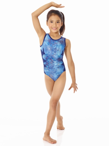 Mondor Midnight Side Design Leotard