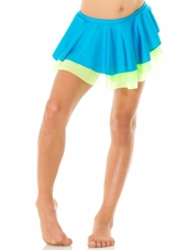 Mondor Ocean Pull-On Classic Skirt w/ Double Mesh