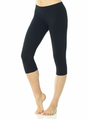 Mondor Supplex Black Capri Pant