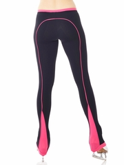 Mondor Supplex Dragon Pink Back Piping Legging