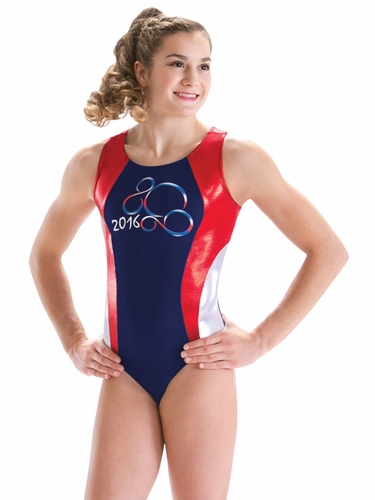 Motionwear Rio & USA Racerback Leotard