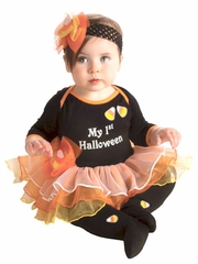 My First Halloween Tutu Set w/ Headband