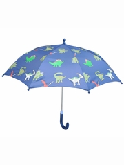 Navy Dinosaur Umbrella