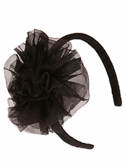 Ooh! La La! Couture Black Flower Headband
