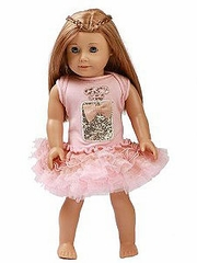 "Ooh! La La! Couture Blush Perfume Birthday 18"" Doll Dress"