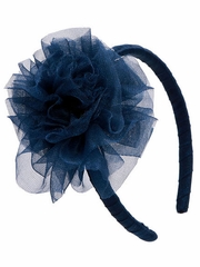 Ooh! La La! Couture Navy Flower Headband