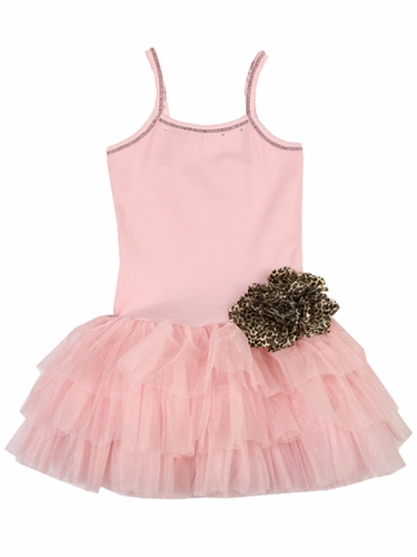 Ooh! La La! Couture Pink Parfait Tutu Flower Dress