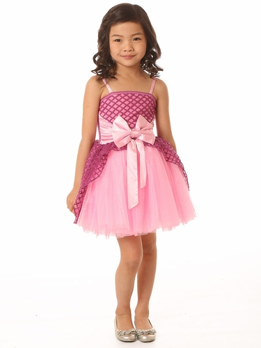 Ooh! La La! Couture Radiant Orchid Pink Lady Jenna Dress