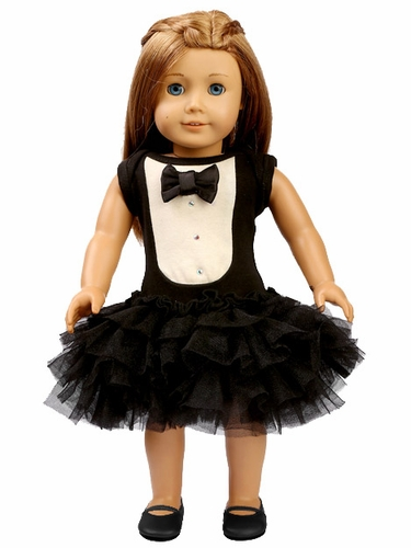 "Ooh! La La! Couture Tuxedo 18"" Doll Dress"