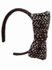 Ooh! La La! Couture Tweed Bow Headband