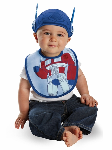 Optimus Bib & Hat