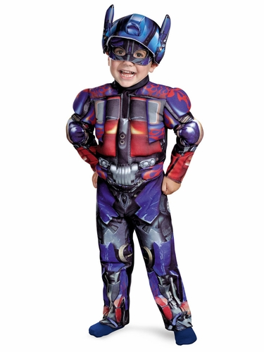 Optimus Muscle Boys Costume