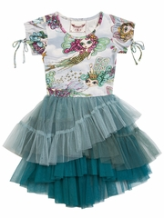 Paper Wings Fairies Tulle Leotard Dress