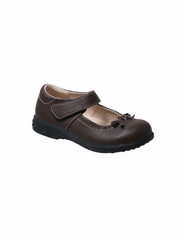 Pediped - Isabella Chocolate Brown Mary Jane