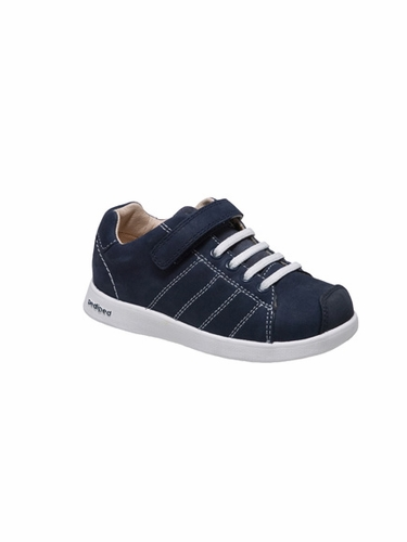 Pediped - Jake Navy Nubuck Shoe