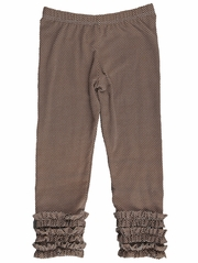 Persnickety A Pocket Full Of Posies Gracie Brown Legging
