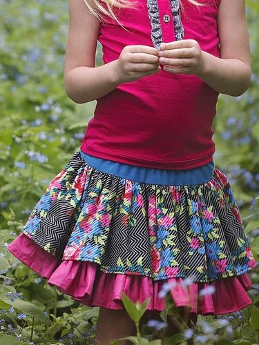 Persnickety Lily Skirt