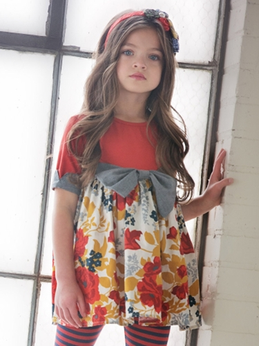 Persnickety Penny Lane Rose Tunic