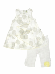Petit Lem �Nautical Chic� Dot Dress Set