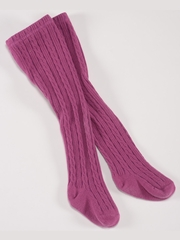 Petit Lem Violet Knit Tights