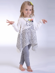 Petit Lem �Wild Revolution� Leopard Tunic w/ Leggings Set
