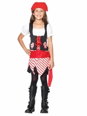Petite Pirate Child Costume for Girls
