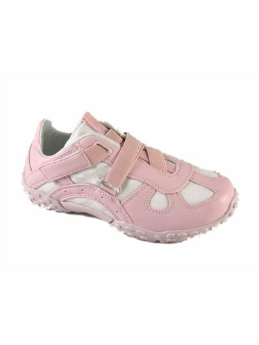 Pink Dual Velcro Strap Shoes