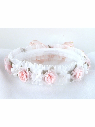 Pink Hair Wreath