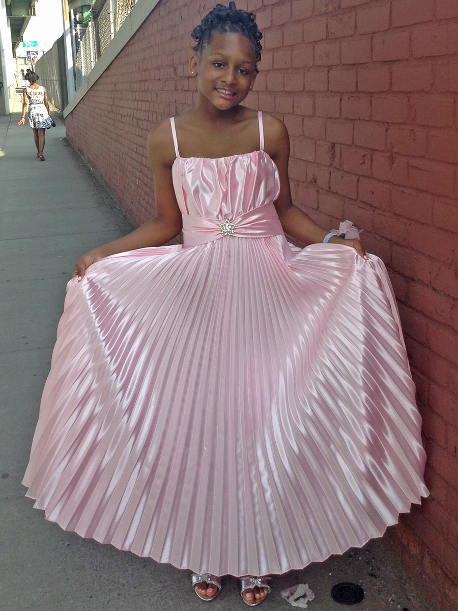 Gt junior bridesmaid dresses gt pink pleated shiny satin long dress