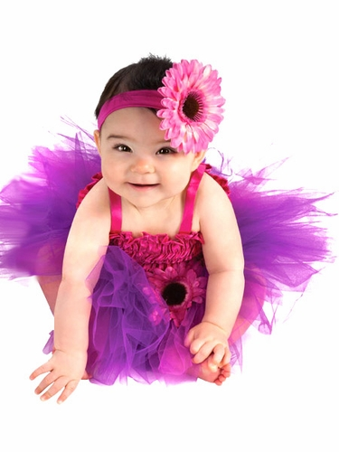 Pink & Purple Flower Fairy Costume