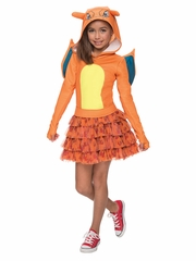 Pokémon Kids Charizard Hoodie Dress