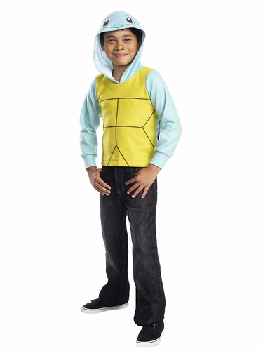 Pok�mon Kids Squirtle Hoodie w/ Shell & Tail