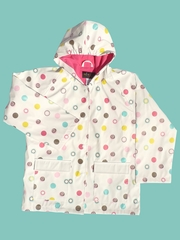 Polka Dot Raincoat