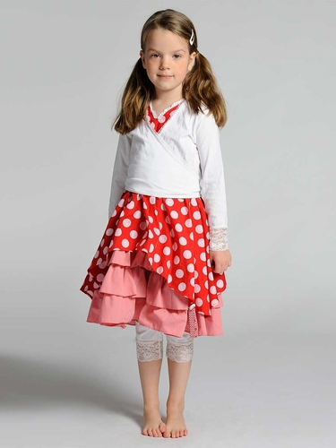 Pom Pom Sally Polka Dot Dress