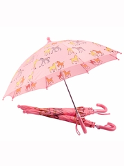 Ponies on Pink Umbrella