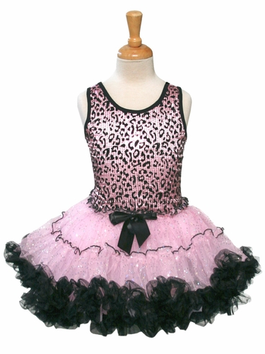 Popatu Sequin Leopard PettiDress
