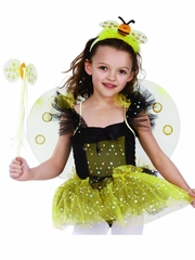 Posh Black & Yellow Bumble Bee Costume