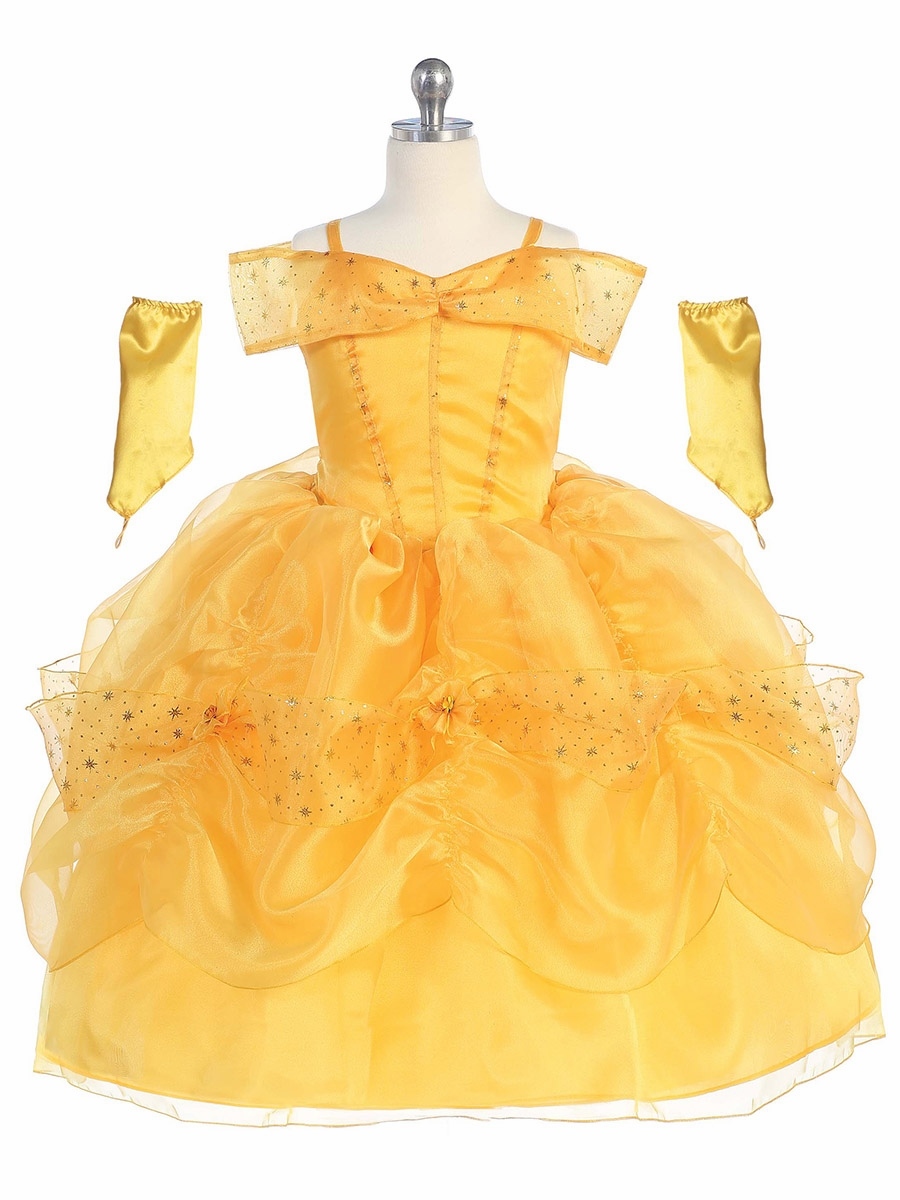 Home > Kid's Costumes > Princess Dress Up > Princess Belle Dress Beauty And The Beast Belle Pink Dress