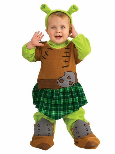 Princess Fiona Warrior Costume