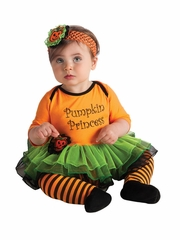 Pumpkin Princess Tutu Set w/ Headband