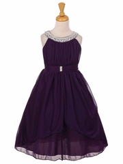 Purple and Lilac Flower Girl Dresses - PinkPrincess.com