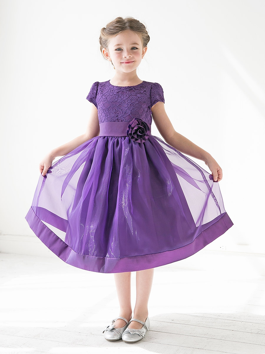 Girls Purple Dress Dress Yp