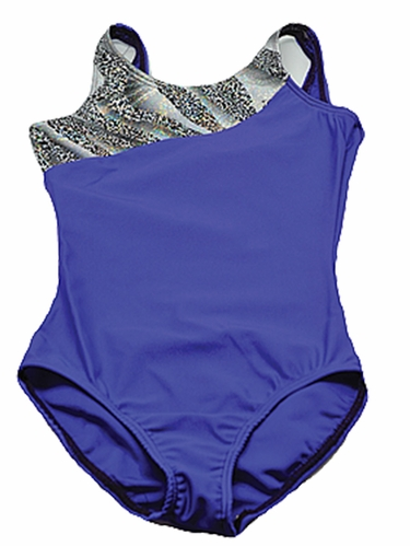 Purple Leopard Leotard