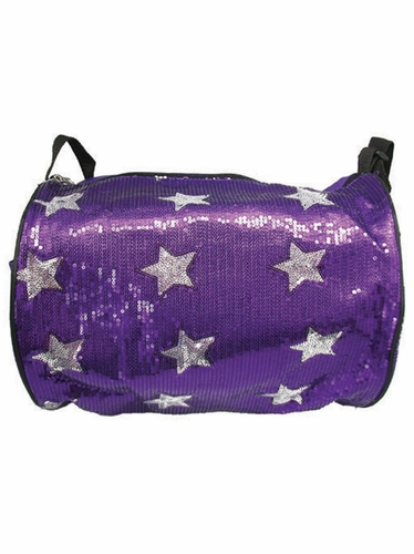 Purple Star Duffel Bag