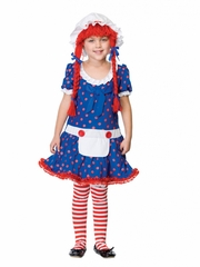 Rag Doll Kids Costume for Girls
