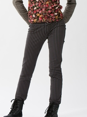 Ragdoll & Rockets Slate Striped Mary Jeans