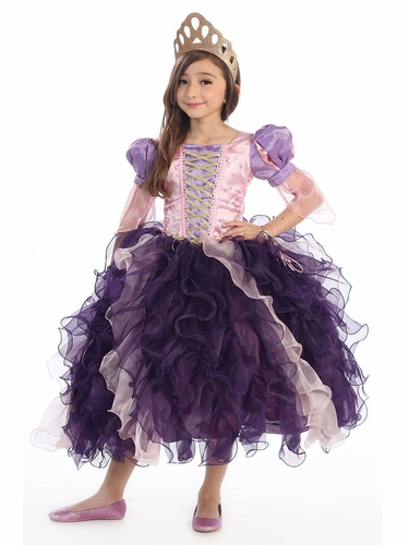 Tangled Deluxe Ruffle Costume